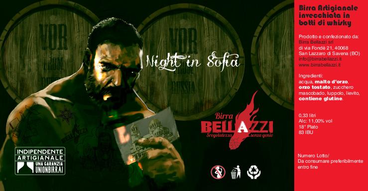 Birra Artiginale on line - night in sofia Bellazzi