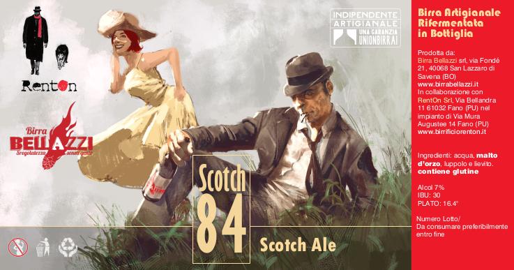 Birra artigianale vendita online - stock 84 Bellazzi