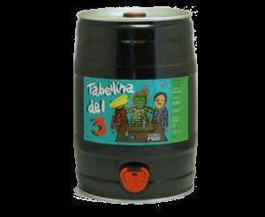 Birra Artigianale Italiana OnLine Bellazzi Tabelleina del 3 Fustino