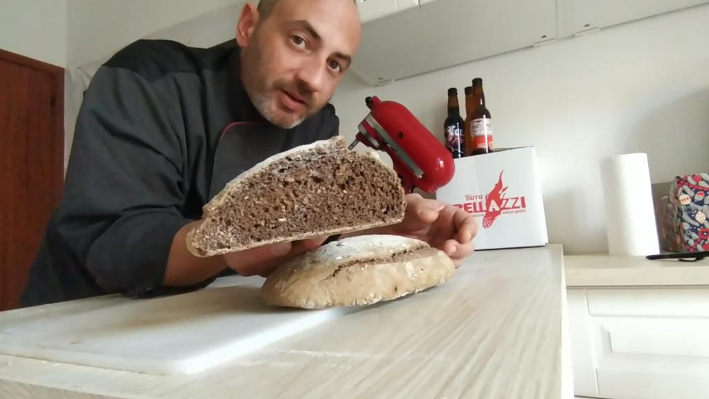 Pane con la birra artigianale Bellazzi