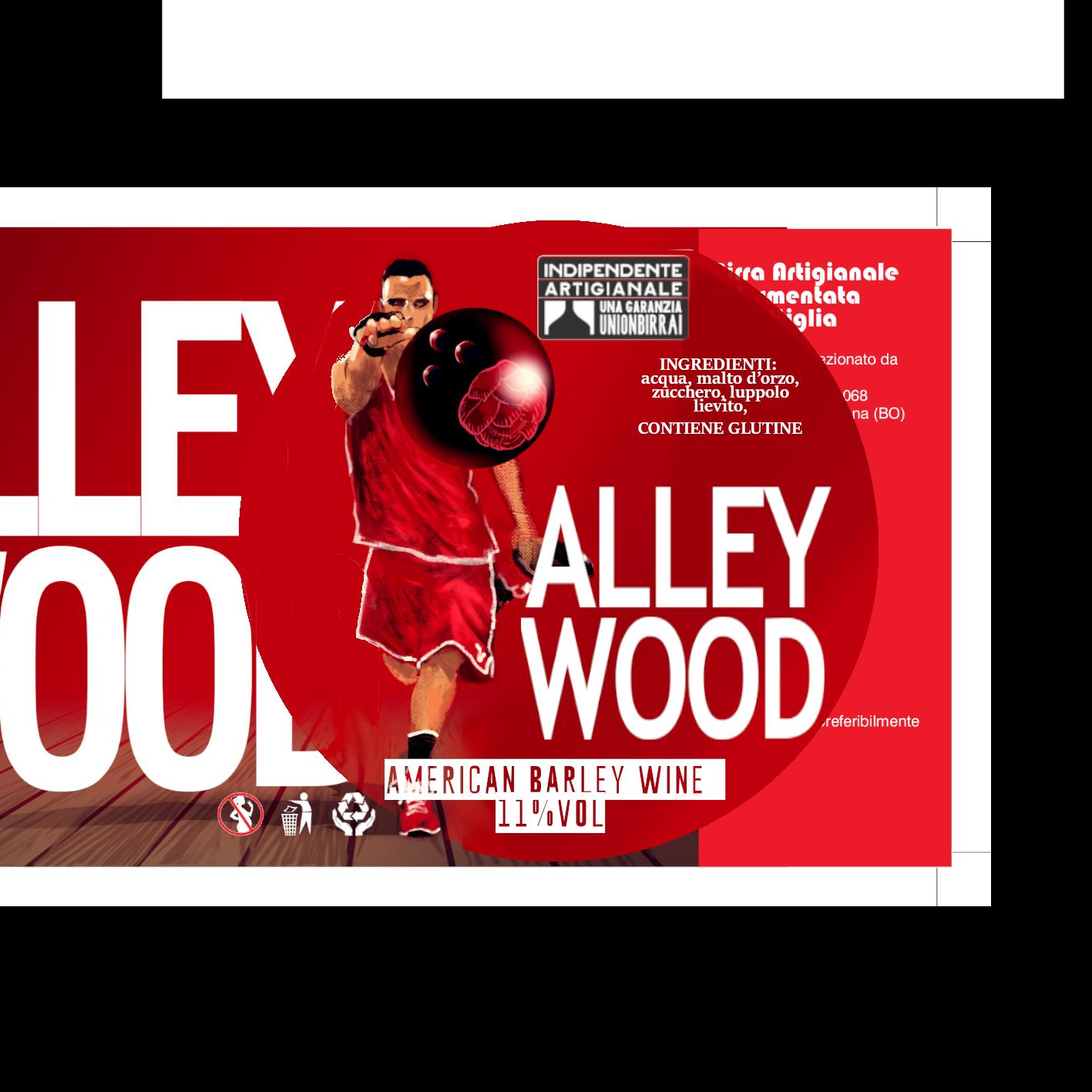 Alley wood Medaglione