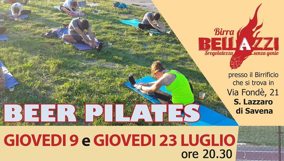 Beer Pilates al Birra Artigianale Bellazzi Spaccio